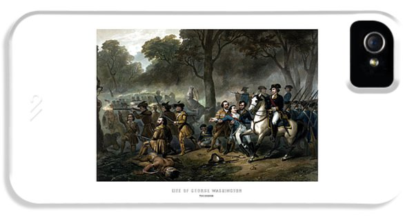 Life Of George Washington - The Soldier IPhone 5 Case