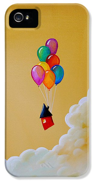 Life Of The Party IPhone 5 Case by Cindy Thornton