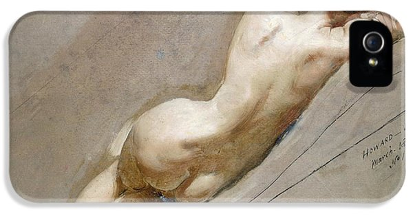 Life Study Of The Female Figure IPhone 5 / 5s Case by William Edward Frost