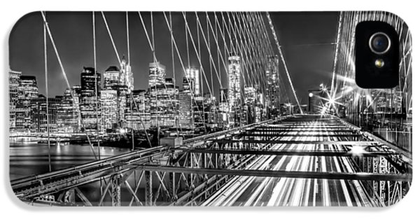 Light Trails Of Manhattan IPhone 5 Case
