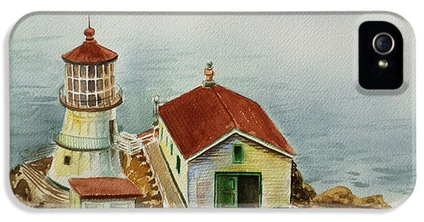 Lighthouse Point Reyes California IPhone 5 Case