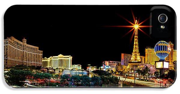 Lighting Up Vegas IPhone 5 / 5s Case by Az Jackson