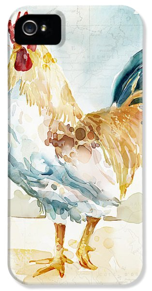 Rooster iPhone 5 Case - Lightrooster by Mauro DeVereaux