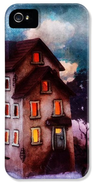 Lilac Hill IPhone 5 Case by Mo T