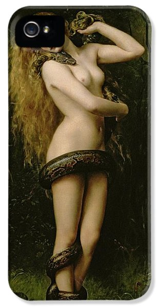 Lilith IPhone 5 Case by John Collier