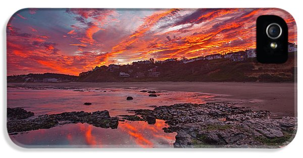 Lincoln City Sunrise IPhone 5 Case by Darren White