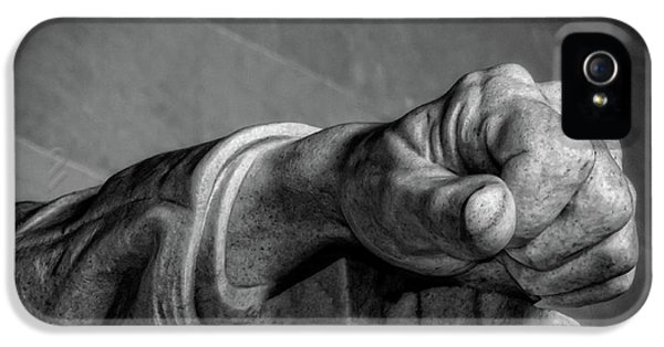 Lincoln's Left Hand B-w IPhone 5 Case by Christopher Holmes