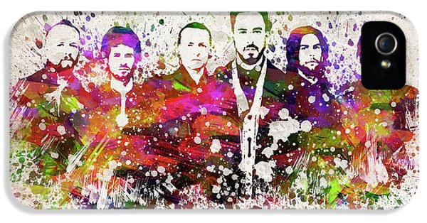 Linkin Park In Color IPhone 5 Case