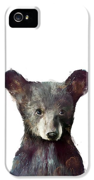 Little Bear IPhone 5 Case by Amy Hamilton