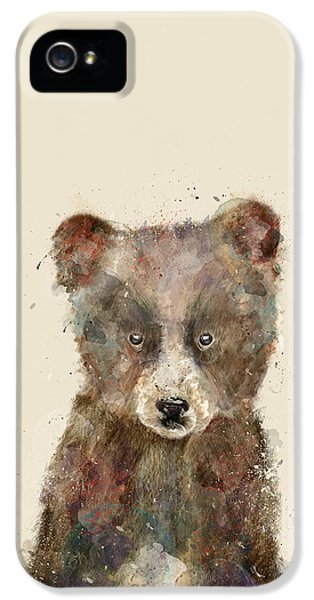 Little Brown Bear IPhone 5 Case