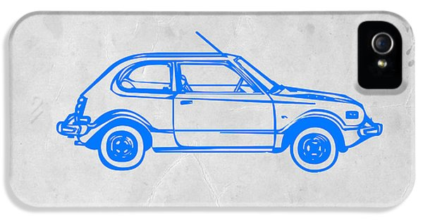 Beetle iPhone 5 Case - Little Car by Naxart Studio