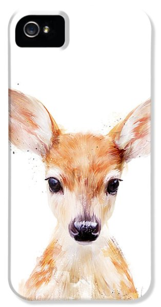 Animals iPhone 5 Case - Little Deer by Amy Hamilton