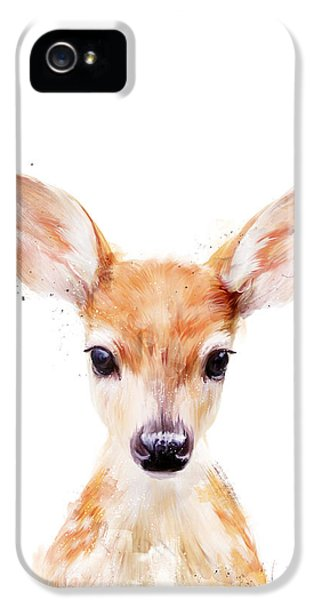 Little Deer IPhone 5 Case by Amy Hamilton