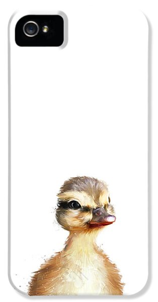 Little Duck IPhone 5 Case by Amy Hamilton