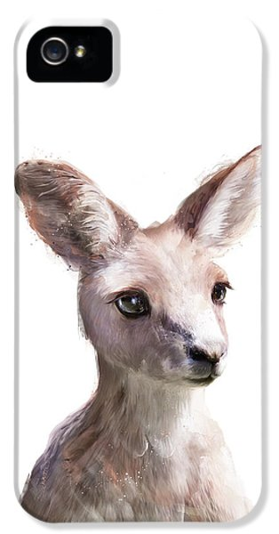Little Kangaroo IPhone 5 Case by Amy Hamilton