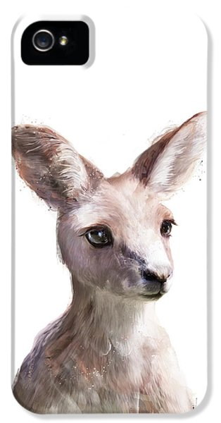 Little Kangaroo IPhone 5 Case by Amy Hamilton
