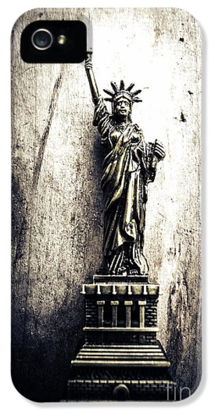 Little Lady Of Vintage Usa IPhone 5 Case by Jorgo Photography - Wall Art Gallery