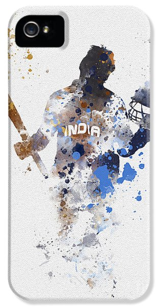 Cricket iPhone 5 Case - Little Master by Rebecca Jenkins