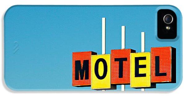 Little Motel Sign IPhone 5 Case