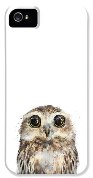 Little Owl IPhone 5 Case by Amy Hamilton