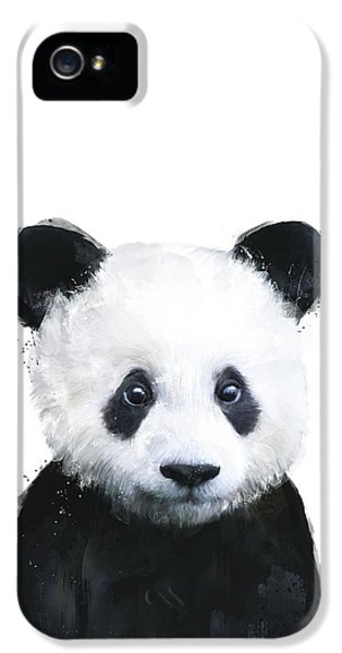 Little Panda IPhone 5 Case by Amy Hamilton