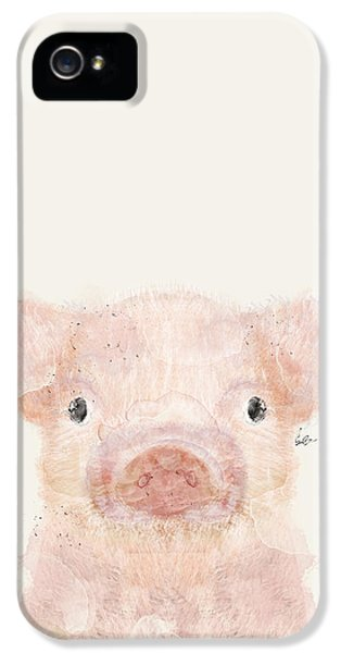 Little Pig IPhone 5 / 5s Case by Bri B