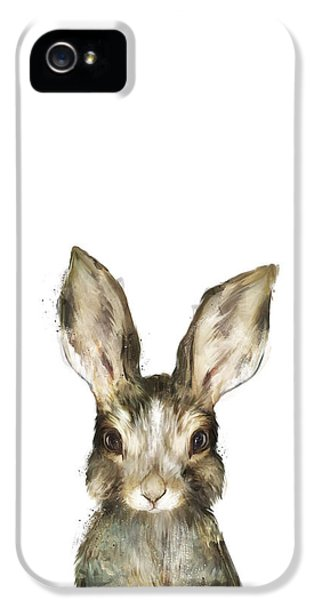 Little Rabbit IPhone 5 Case by Amy Hamilton