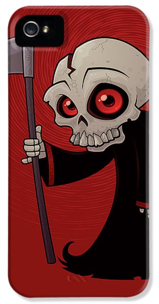 Little Reaper IPhone 5 Case by John Schwegel