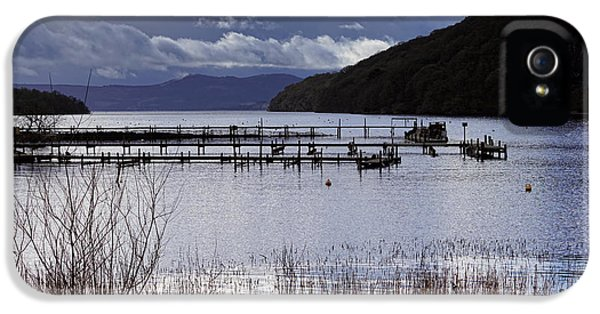 IPhone 5 Case featuring the photograph Loch Lomond by Jeremy Lavender Photography