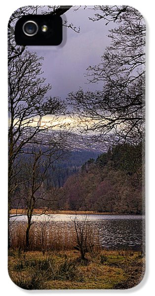 IPhone 5 Case featuring the photograph Loch Venachar by Jeremy Lavender Photography