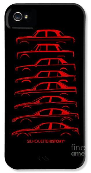 Lombard Sedan Silhouettehistory IPhone 5 Case by Gabor Vida