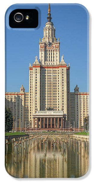 Lomonosov Moscow State University At Day IPhone 5 Case