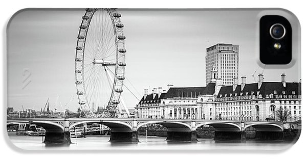 London Eye IPhone 5 Case by Ivo Kerssemakers