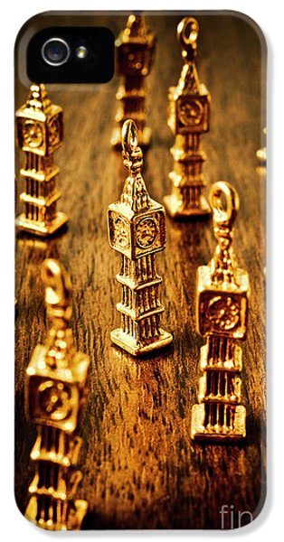 Pendant iPhone 5 Case - London Gold by Jorgo Photography - Wall Art Gallery