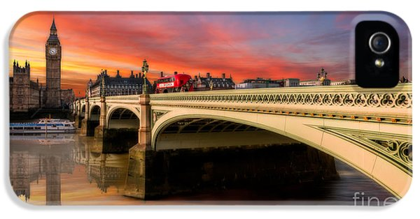 London Sunset IPhone 5 Case