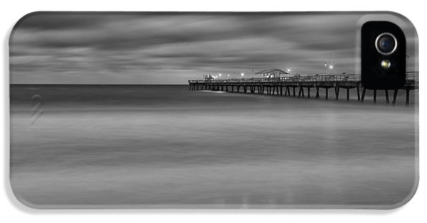 Lonely Morning At The Pier IPhone 5 Case