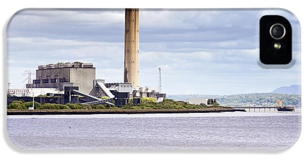 IPhone 5 Case featuring the photograph Longannet Power Station by Jeremy Lavender Photography