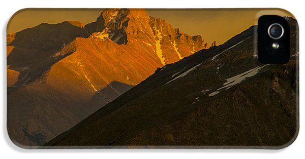 Long's Peak IPhone 5 Case by Gary Lengyel