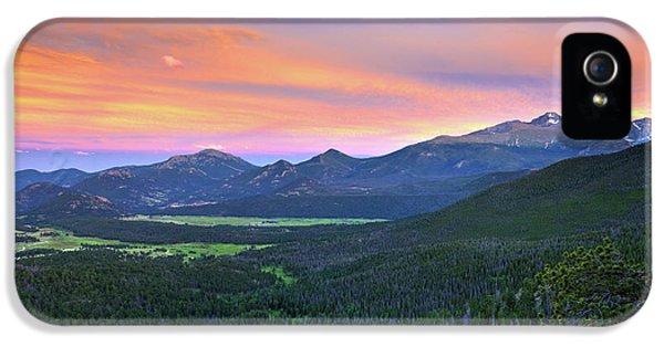 Longs Peak Sunset IPhone 5 Case