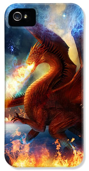 Lord Of The Celestial Dragons IPhone 5 Case by Philip Straub