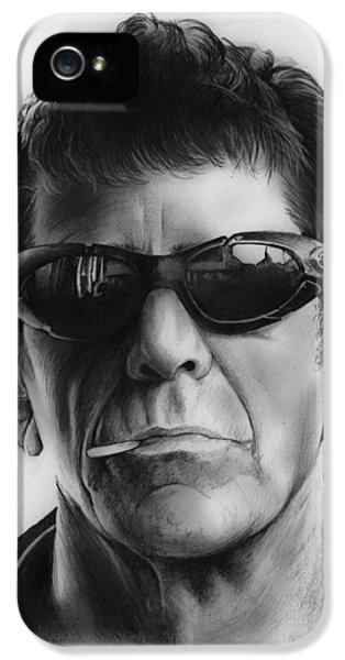 London Tube iPhone 5 Case - Lou Reed by Greg Joens