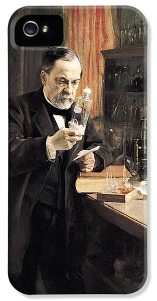 Louis Pasteur IPhone 5 Case by Albert Gustaf Aristides Edelfelt