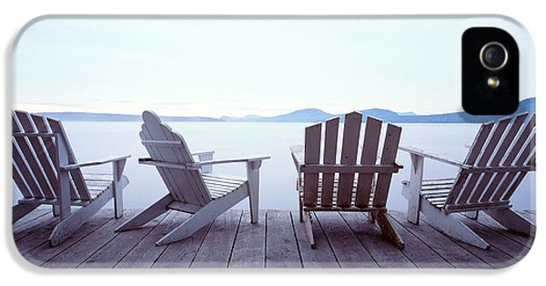 Lounge Chairs Moosehead Lake Me IPhone 5 Case