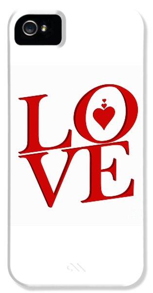 Extraordinary Valentine Love 24 IPhone 5 Case by Johannes Murat