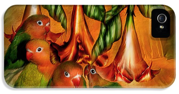 Love Among The Trumpets IPhone 5 Case by Carol Cavalaris
