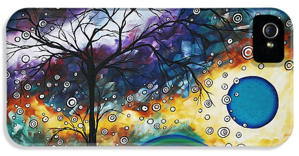Decor iPhone 5 Cases - Love and Laughter by MADART iPhone 5 Case by Megan Duncanson