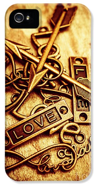 Pendant iPhone 5 Case - Love Charms In Romantic Signs And Symbols by Jorgo Photography - Wall Art Gallery