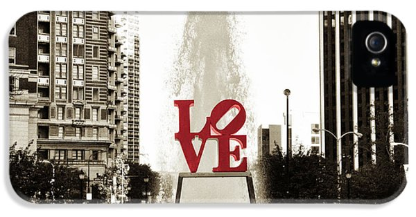 Love In Philadelphia IPhone 5 Case