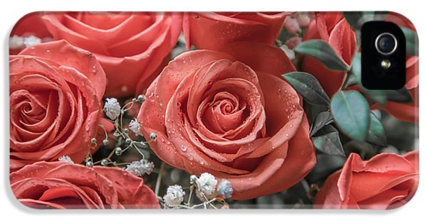 Breathe iPhone 5 Case - Love Is In Bloom 2 by Betsy Knapp