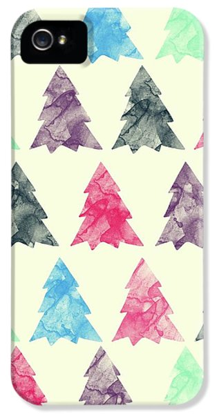 Lovely Pattern II IPhone 5 Case by Amir Faysal
